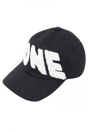 WE11DONE 【30%OFF】LOGO PATCH CAP