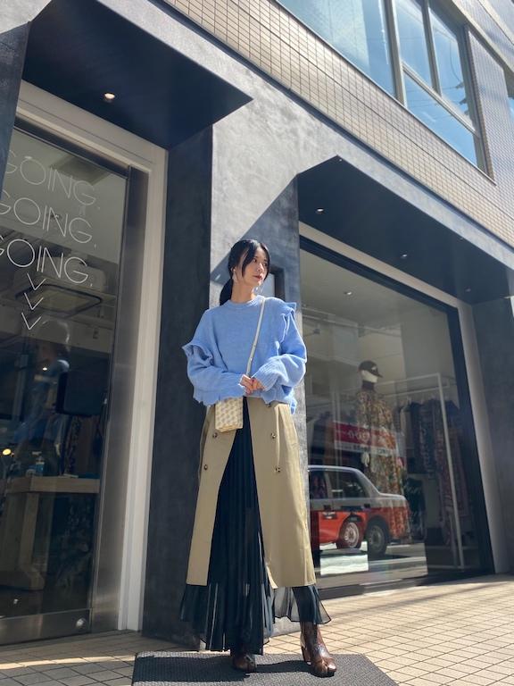 rokh 【40%OFF】SPLIT TRENCHスカート