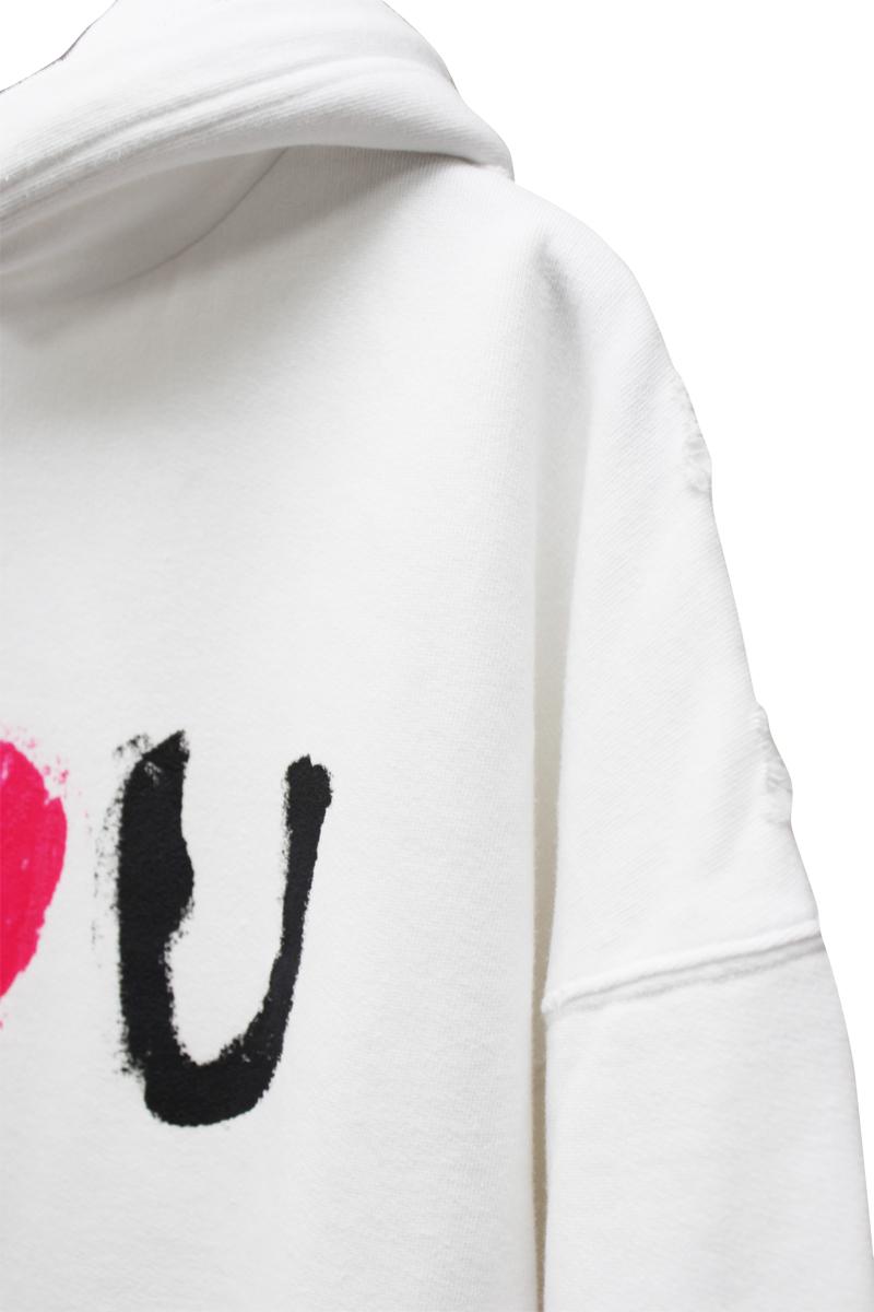 BALENCIAGA I LOVE U フーディ【21SS】