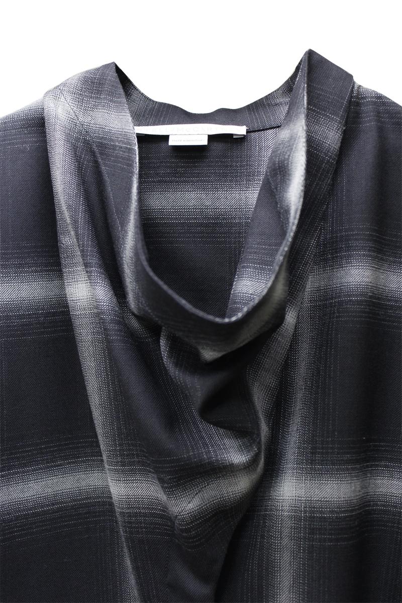 STELLA McCARTNEY チェックシャツ【21SS】