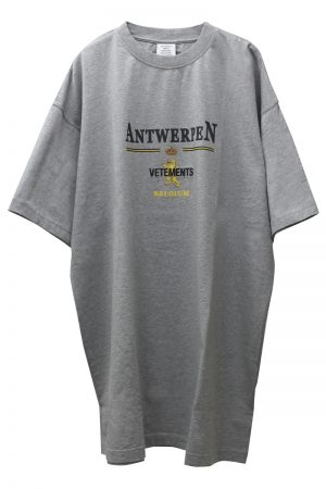 VETEMENTS ANTWERPロゴTシャツ【21SS】