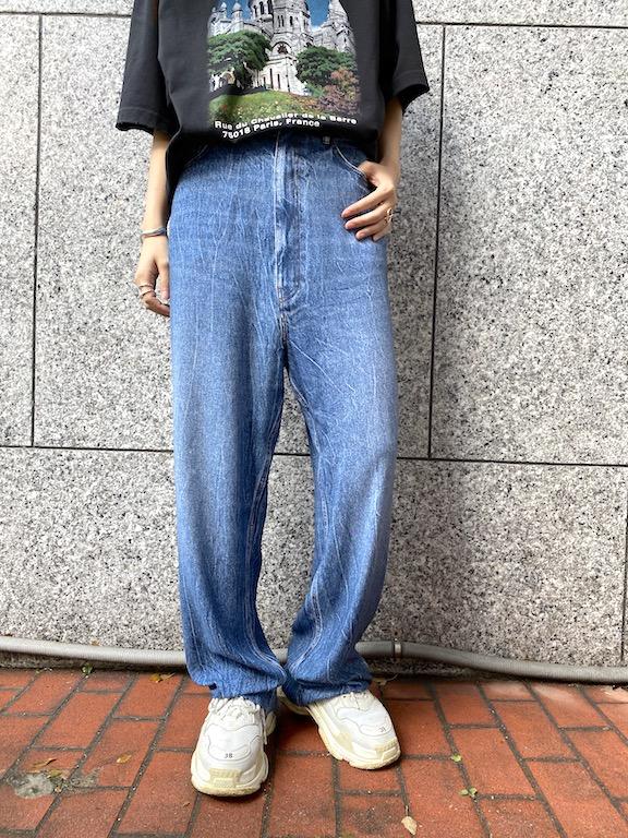 BALENCIAGA プリントバギーパンツ【21SS】