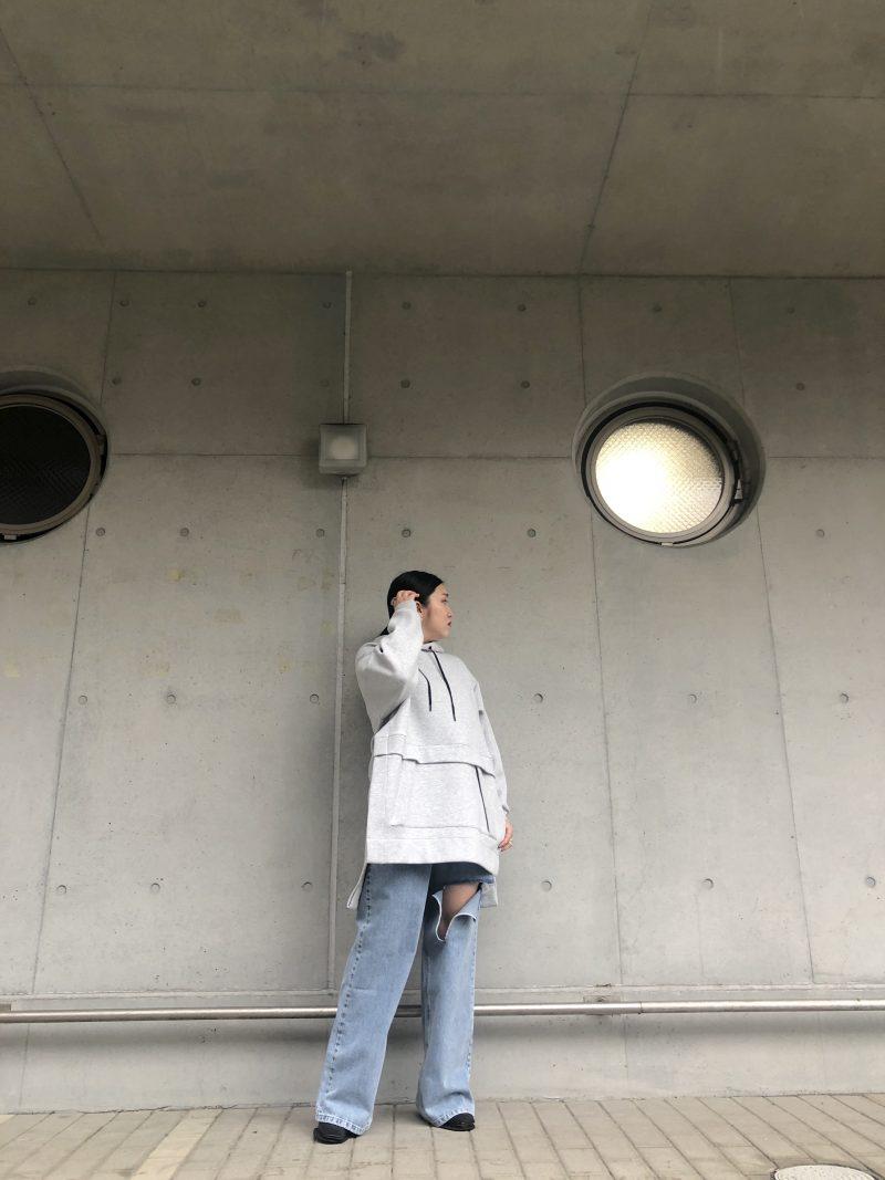 3.1 PHILLIP LIM オーバーサイズフーディ【21SS】