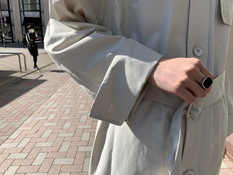 Christian Wijnants ステンカラーコート【21SS】