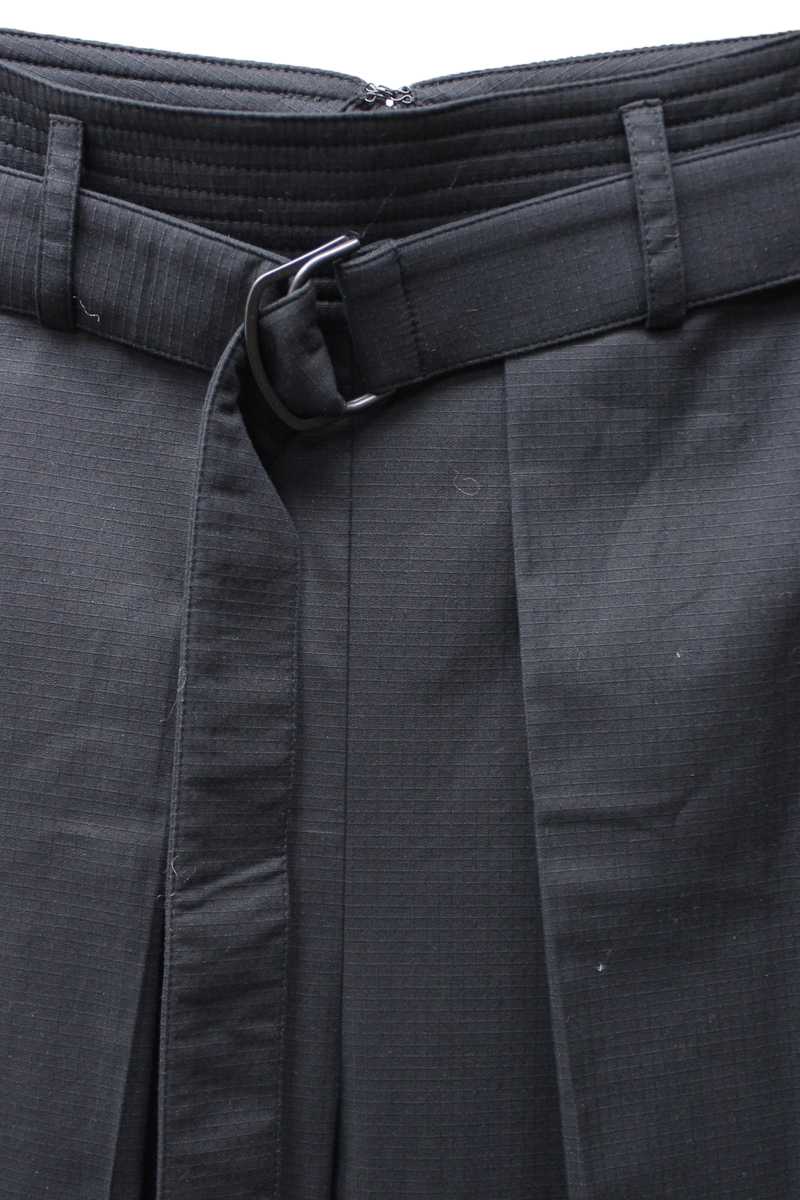 Christian Wijnants ベルト付ワイドパンツ (BLACK)
