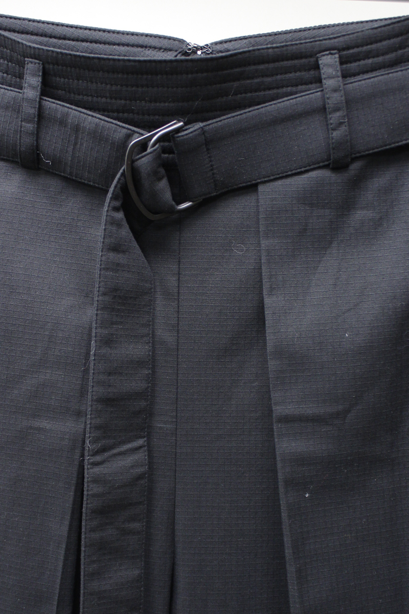 Christian Wijnants ベルト付ワイドパンツ (BLACK)【21SS】
