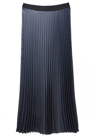 08 SIRCUS サテンプリーツスカート