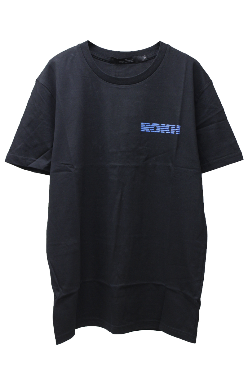 rokh ネオンロゴプリントTシャツ