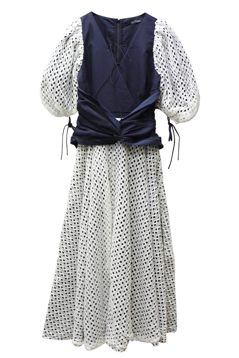 rokh ダブルレースドレス【21SS】