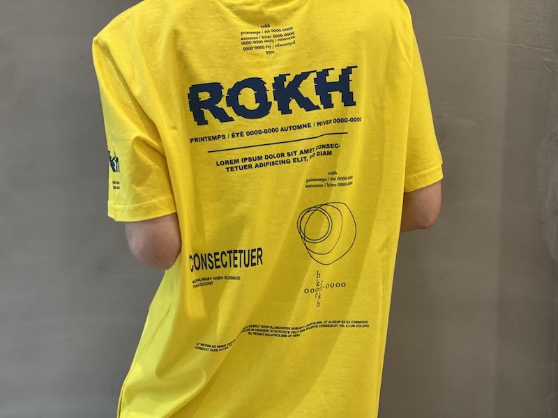 rokh 【40%OFF】COSECTETEUR Tシャツ