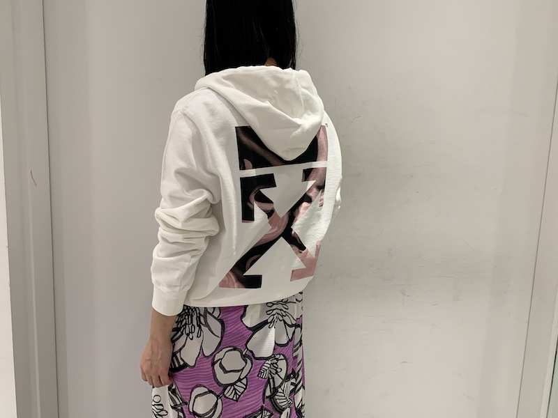Christian Wijnants 総柄ロングスカート (PURPLE)【21SS】