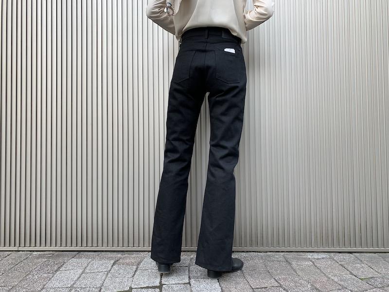 JOHN LAWRENCE SULLIVAN RIGIDスリットデニムパンツ【21SS】