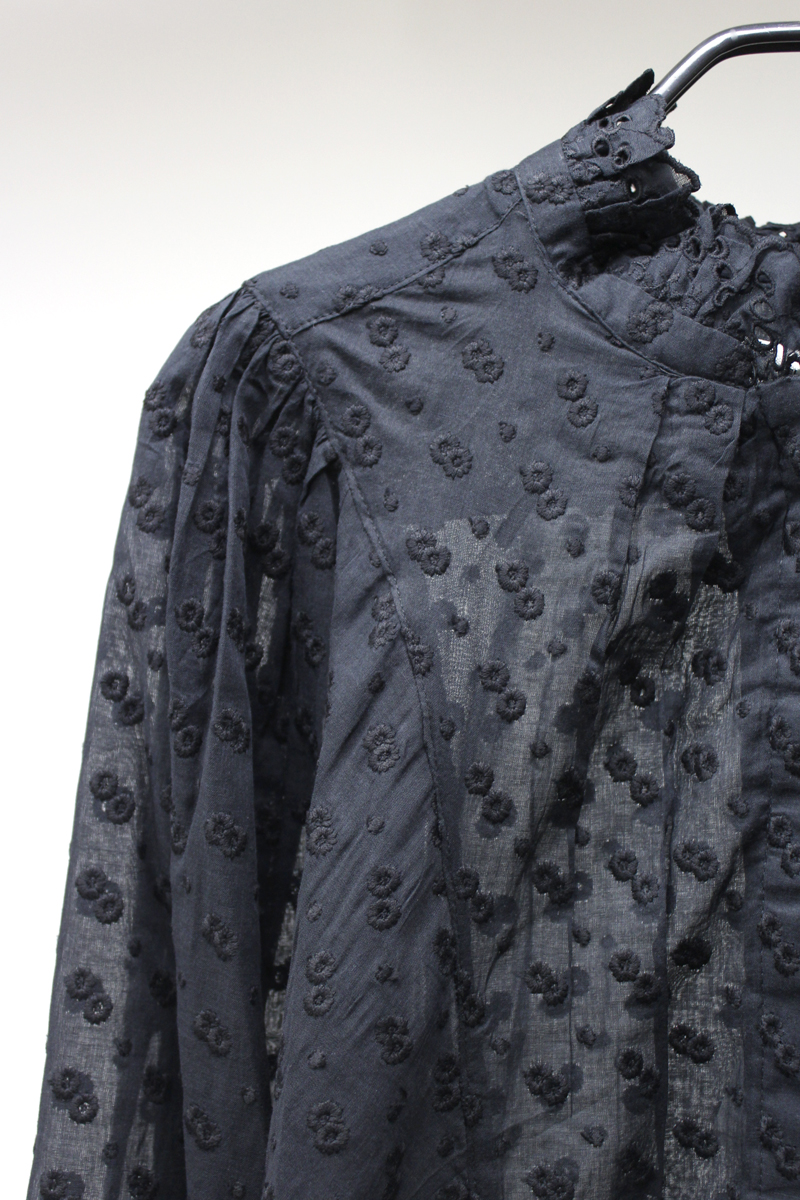 ISABEL MARANT ETOILE 刺繍柄ブラウス【21SS】
