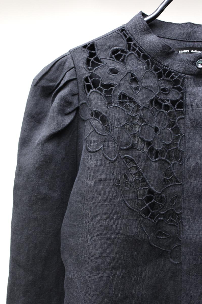ISABEL MARANT 刺繍レースブラウス【21SS】