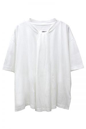 MM6 MAISON MARGIELA ギャザーTシャツ