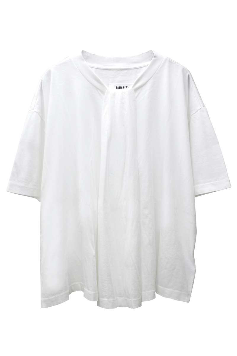 MM6 MAISON MARGIELA ギャザーTシャツ【21SS】