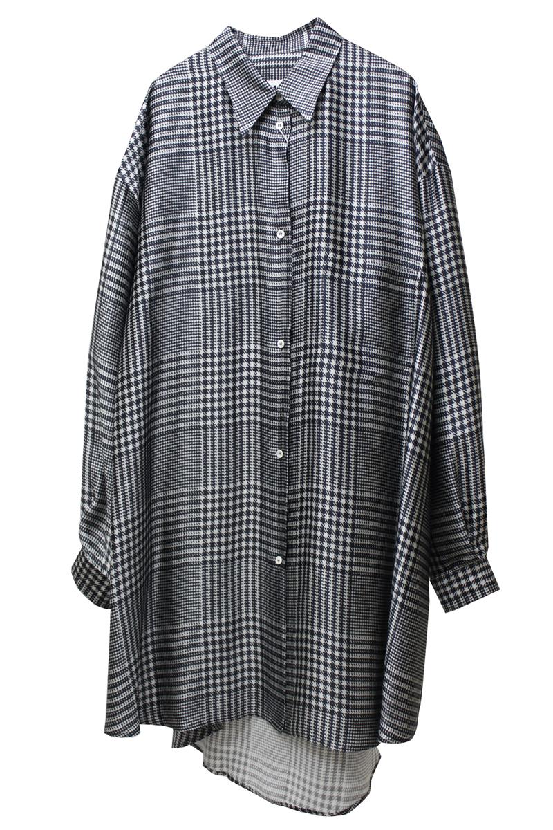 MM6 MAISON MARGIELA チェックオーバーシャツ【21SS】