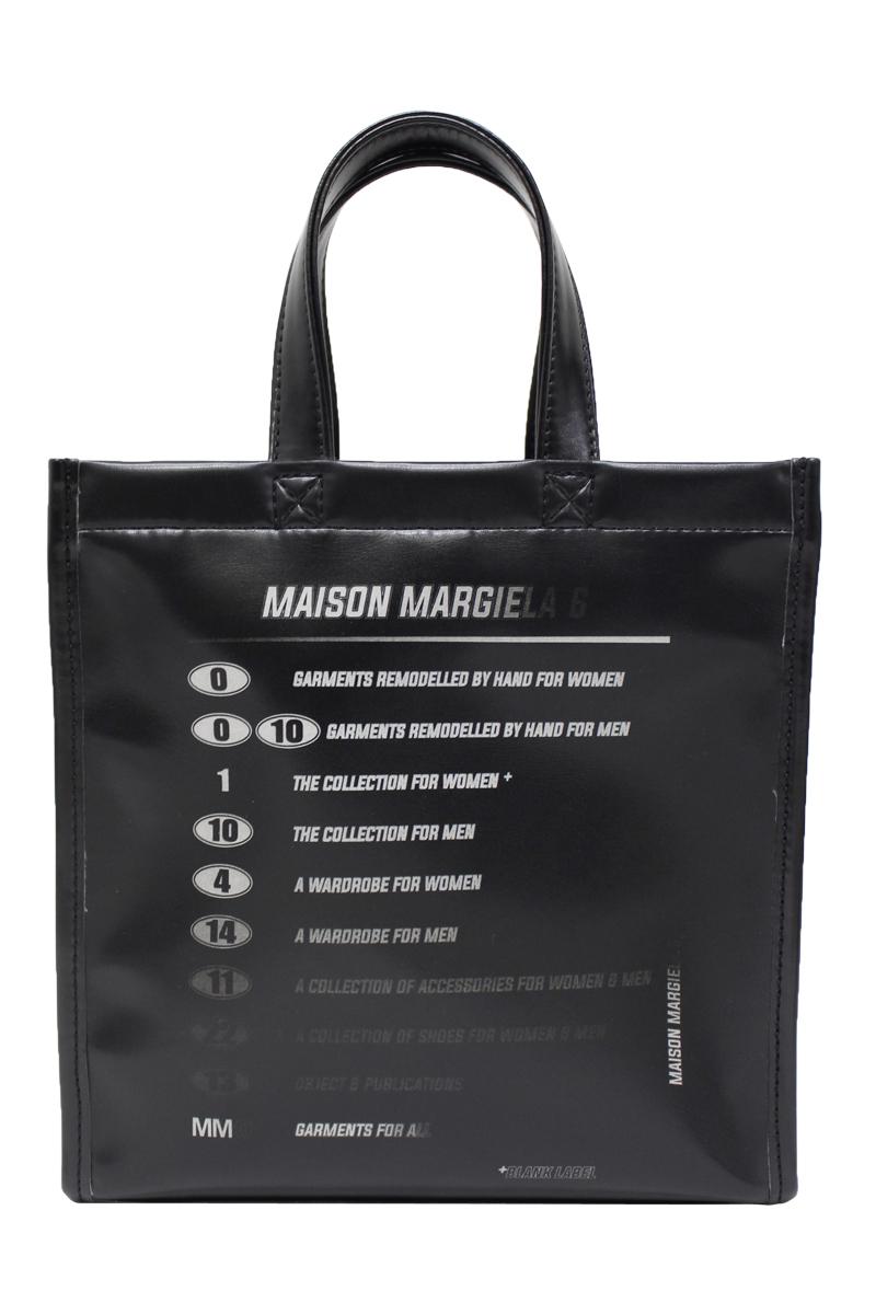 MM6 MAISON MARGIELA ロゴハンドバッグ【21SS】