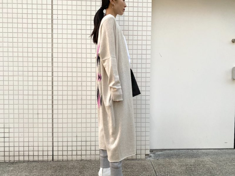 QUEENE and BELLE Sonora Longカーディガン【21SS】