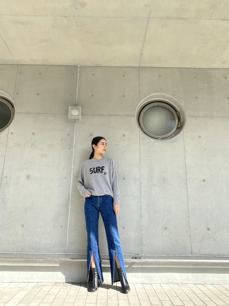 QUEENE and BELLE Surf76ニット【21SS】