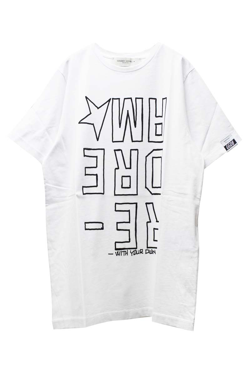 GOLDEN GOOSE DELUXE BRAND INVERTED Tシャツ【21SS】