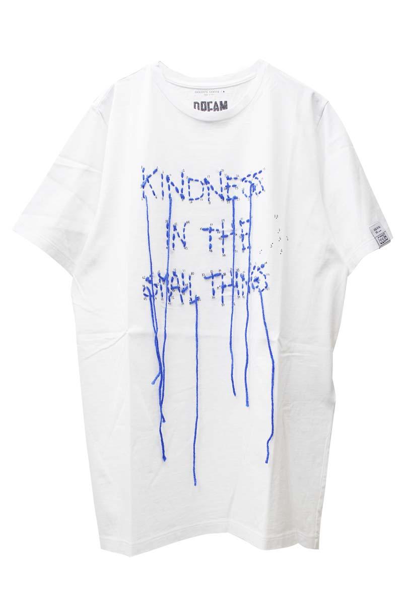 GOLDEN GOOSE DELUXE BRAND KINDNESS Tシャツ【21SS】