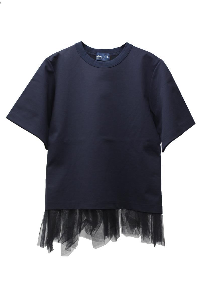 kolor レイヤードTシャツ【21SS】