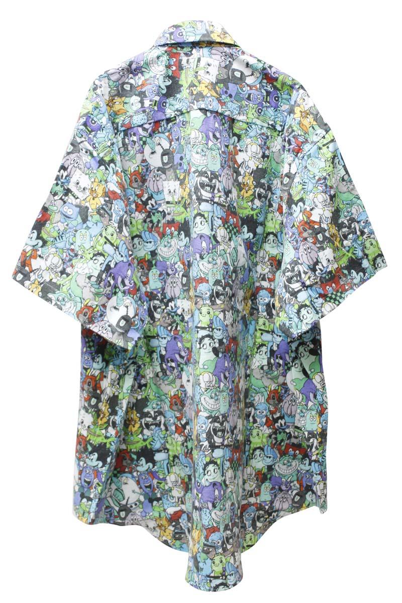 VETEMENTS CARTOON MANIAシャツ【21SS】