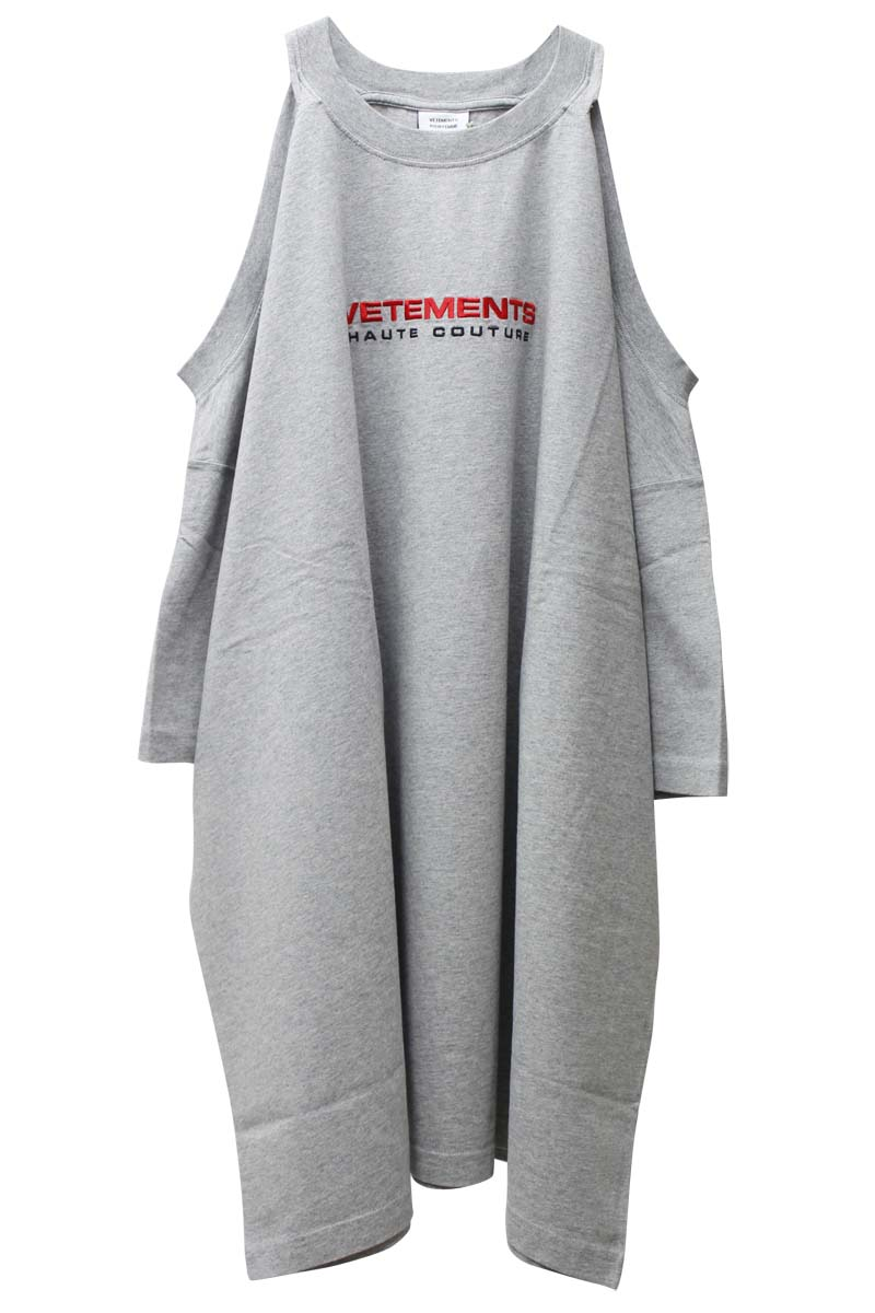 VETEMENTS ロゴTシャツワンピース【21SS】