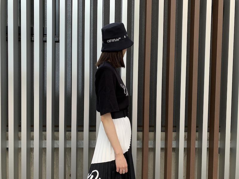 OFF-WHITE LOGO SHOULDER PADS Tシャツ