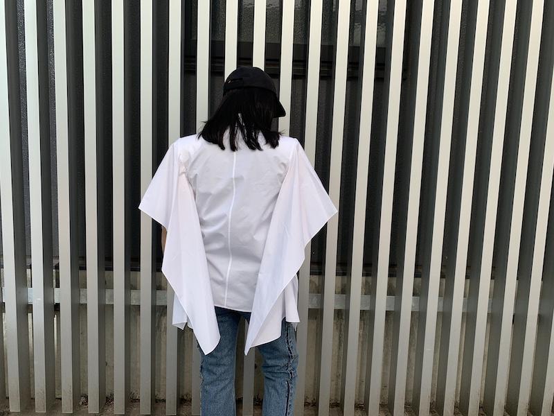 OFF-WHITE ポプリン半袖シャツ【21SS】