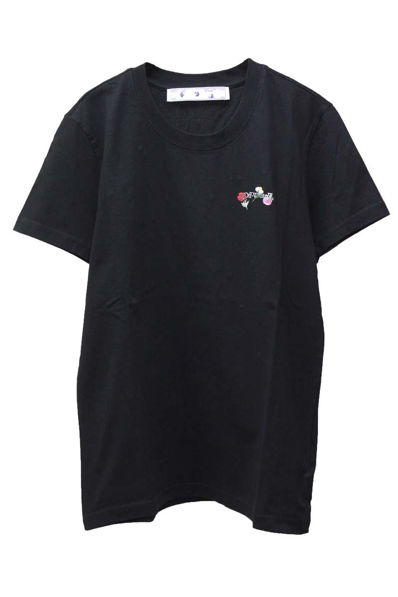 OFF-WHITE ARROW FLOWERS Tシャツ【21SS】