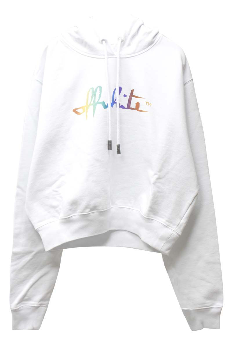 OFF-WHITE RAIBOWロゴフーディ【21SS】
