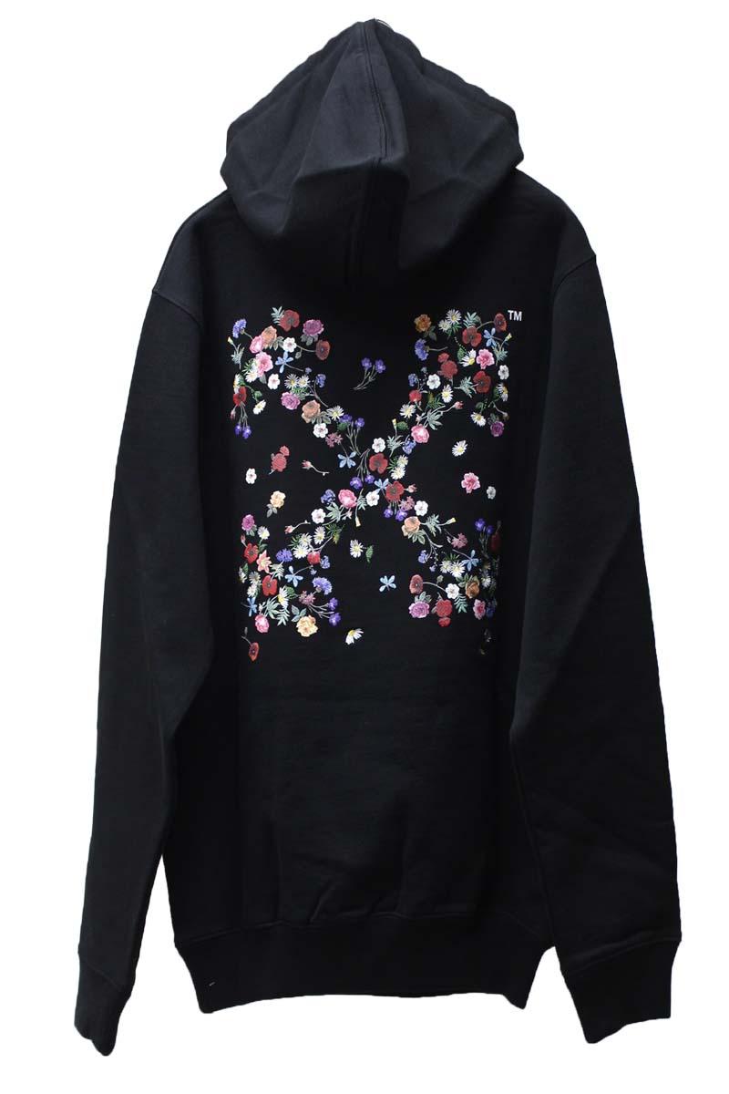 OFF-WHITE 【40%OFF】ARROW FLOWERSフーディ