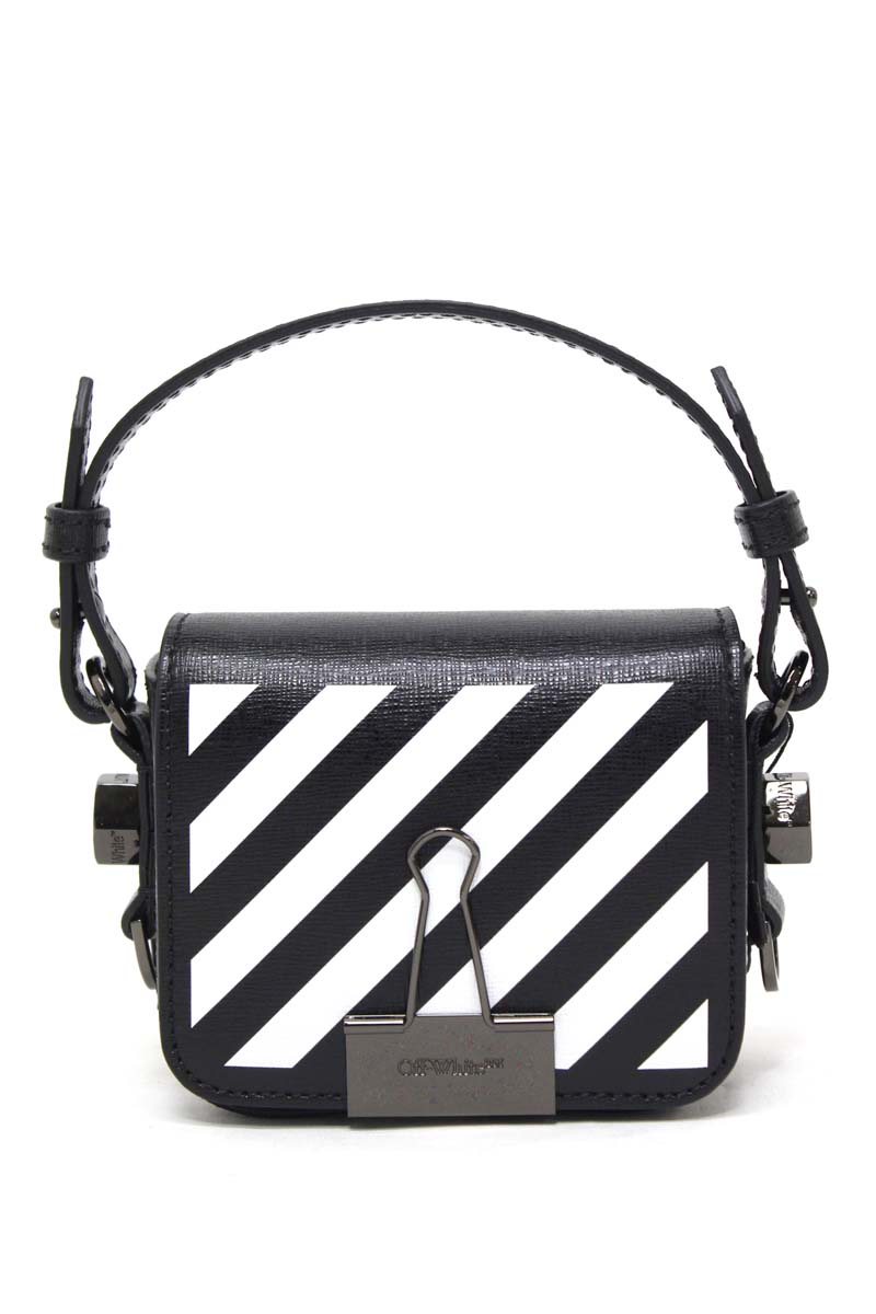 OFF-WHITE DIAG BABY FLAPバッグ【21SS】