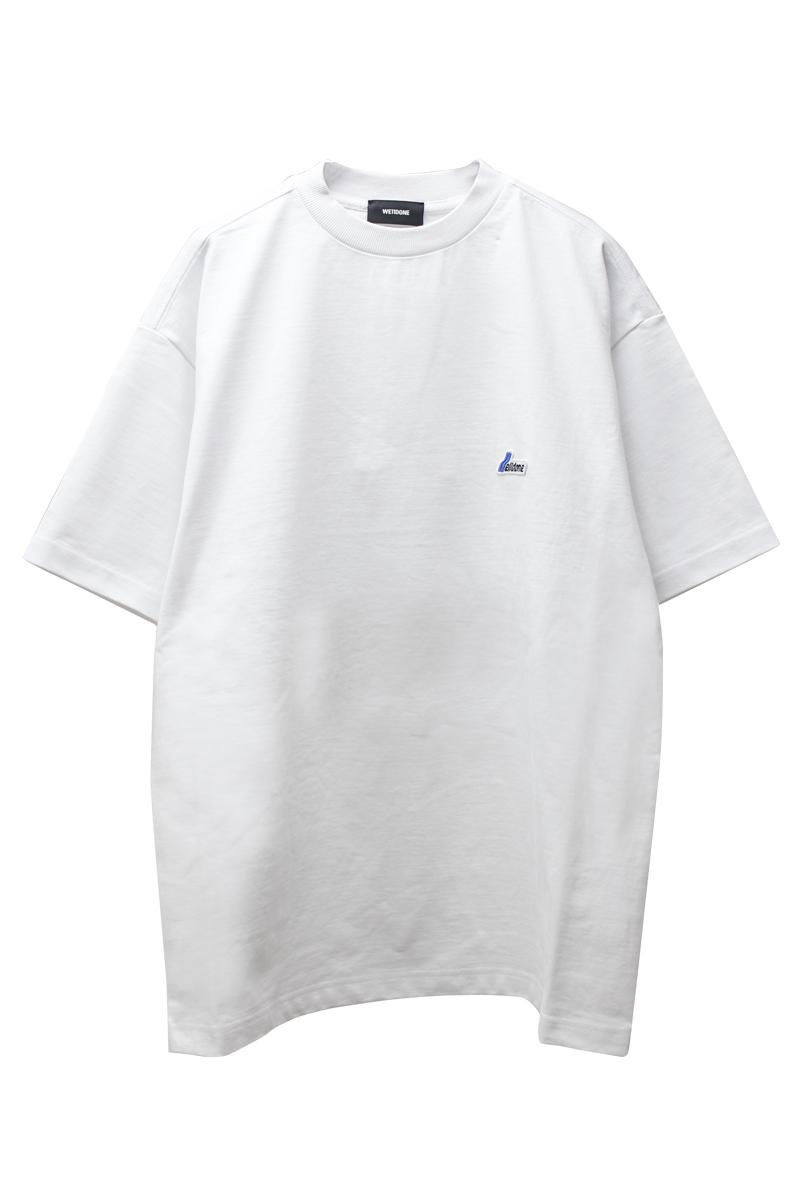 WE11DONE ワッペンロゴTシャツ【21SS】