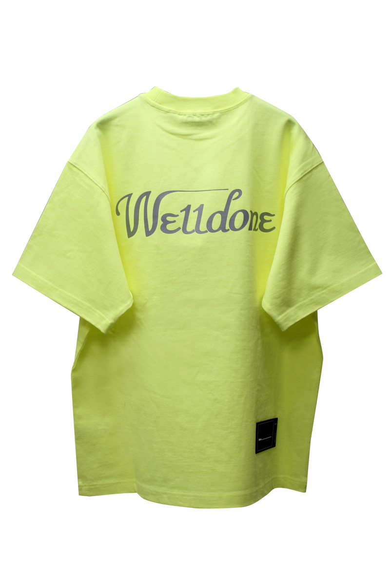 WE11DONE ロゴTシャツ【21SS】