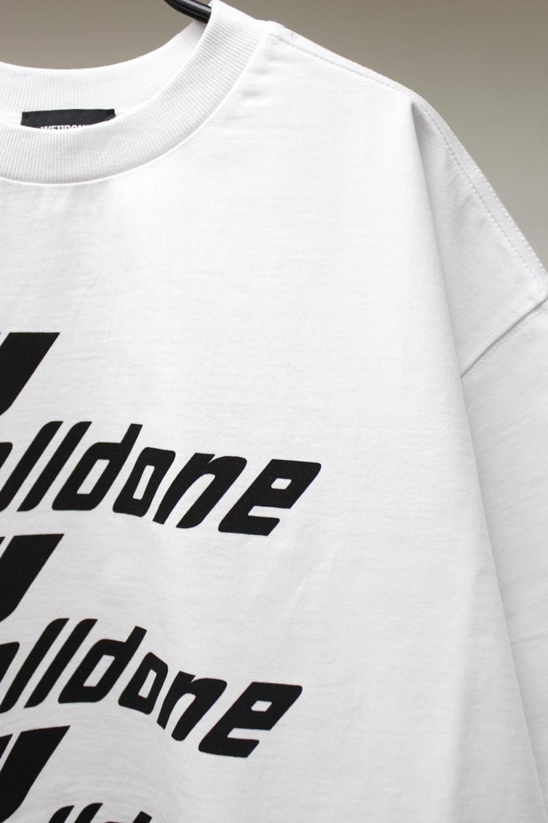 WE11DONE ロントロゴTシャツ【21SS】