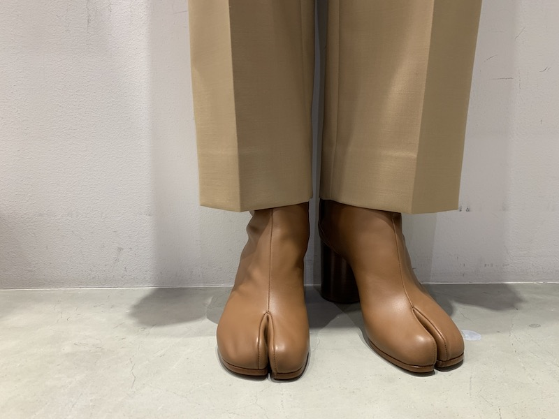MAISON MARGIELA たびブーツ(BROWN)
