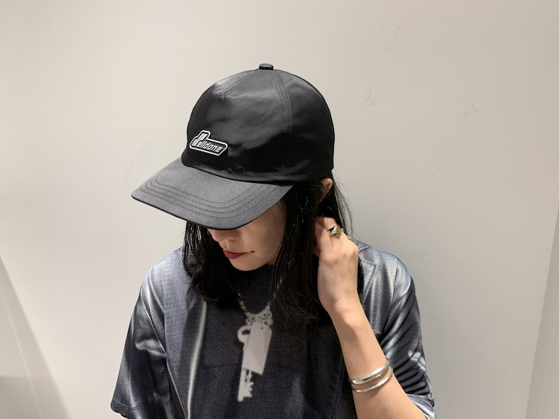 WE11DONE ロゴキャップ【21SS】