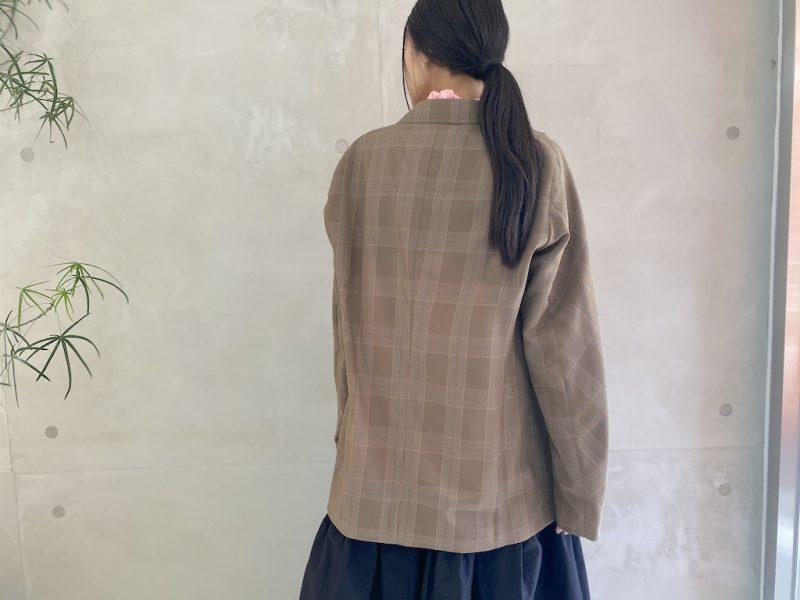 kolor グレンチェックジャケット(MEN)