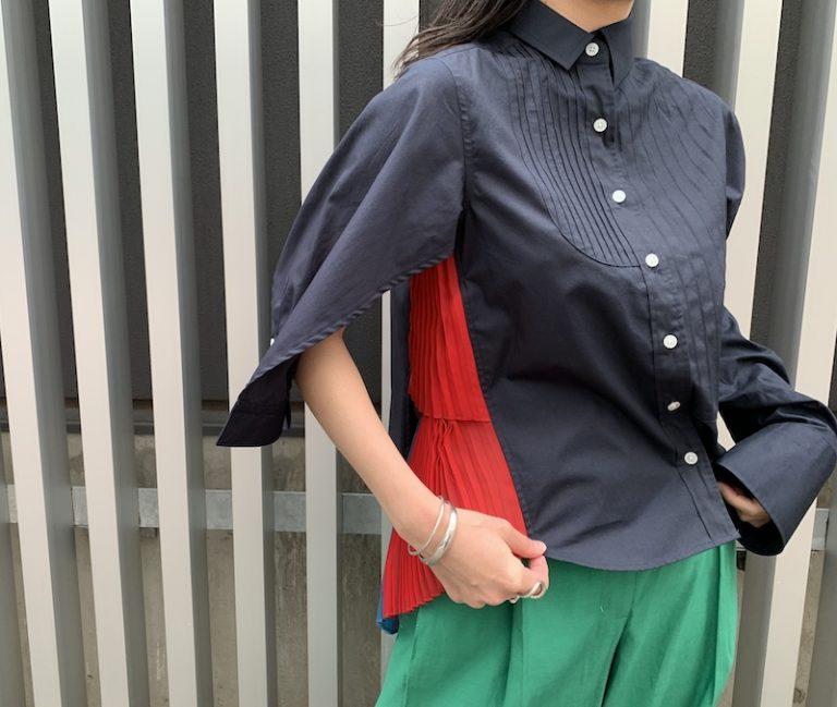 kolor アシンメトリーシャツ【21SS】