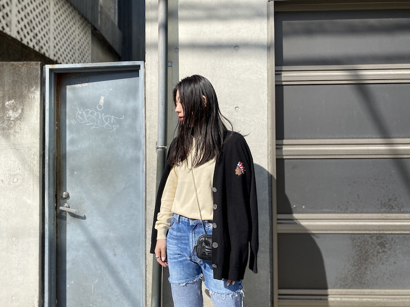 QUEENE and BELLE Tribeカーディガン【21SS】