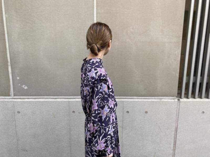 ISABEL MARANT ETOILE 花柄ロングワンピース【21SS】