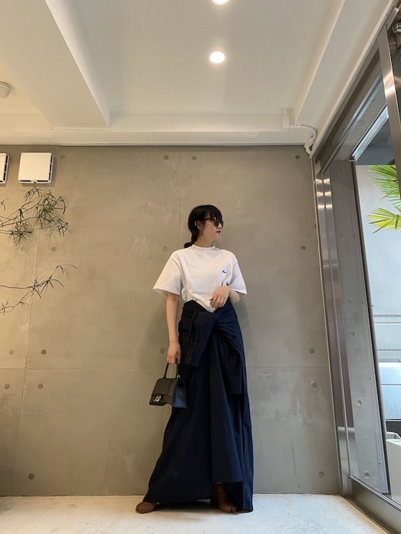 BALENCIAGA シャツスカート【21SS】