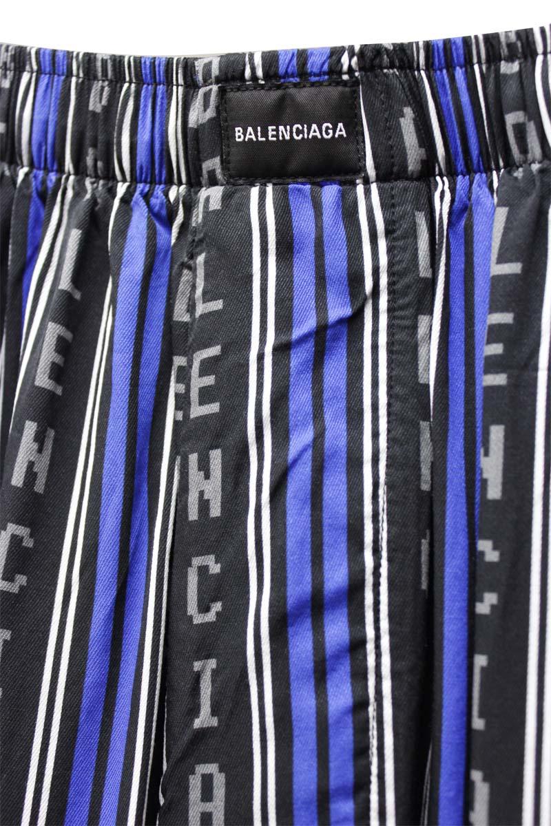BALENCIAGA ロゴパジャマパンツ【21SS】