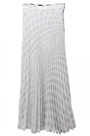 MM6 MAISON MARGIELA ドットプリーツスカート【21SS】