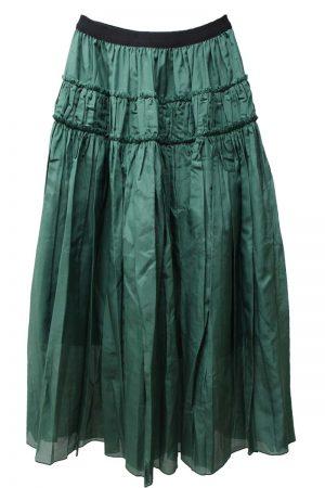 SARA LANZI ギャザースカート【21SS】