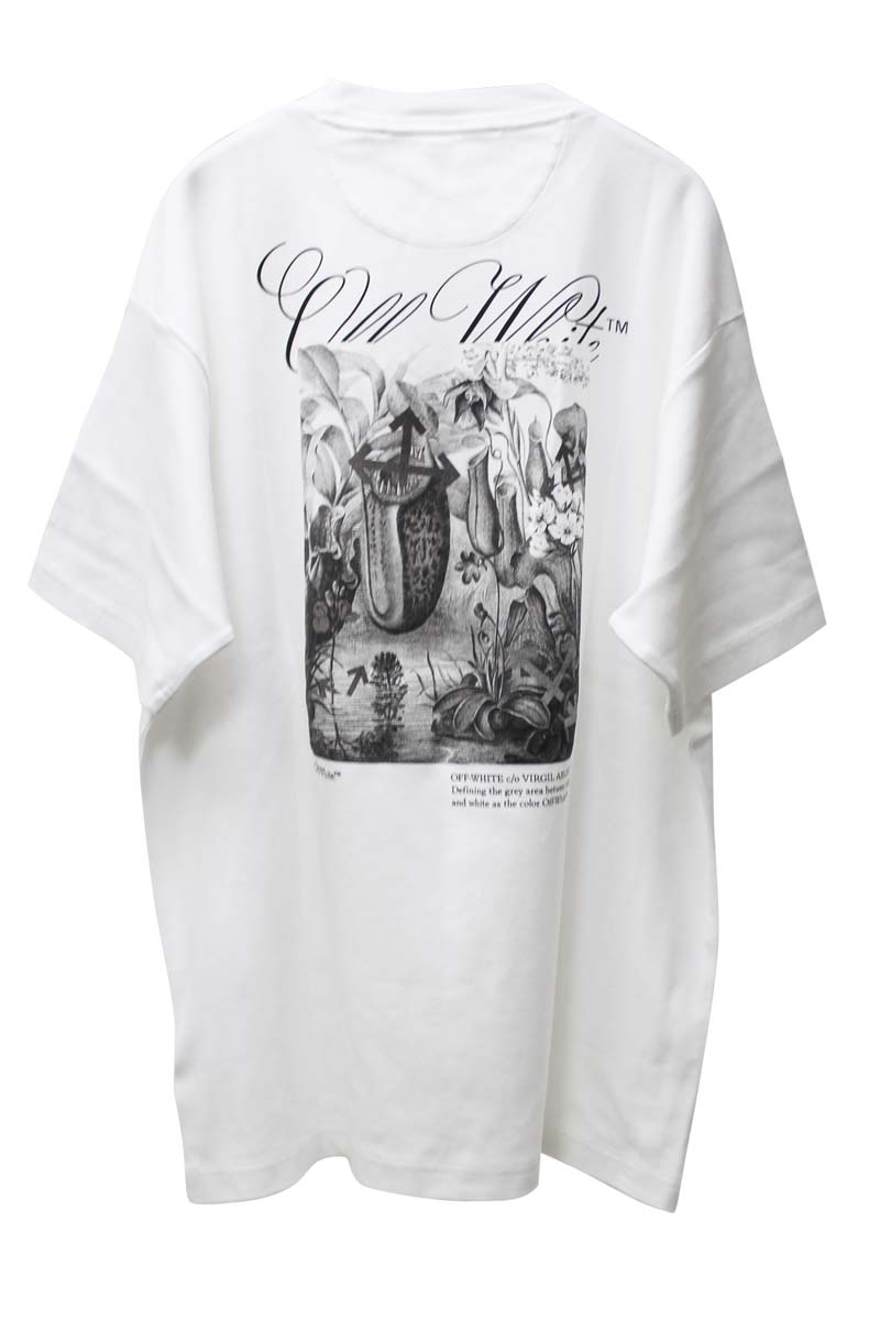 OFF-WHITE BOTANICAL TOMBOY Tシャツ【21SS】