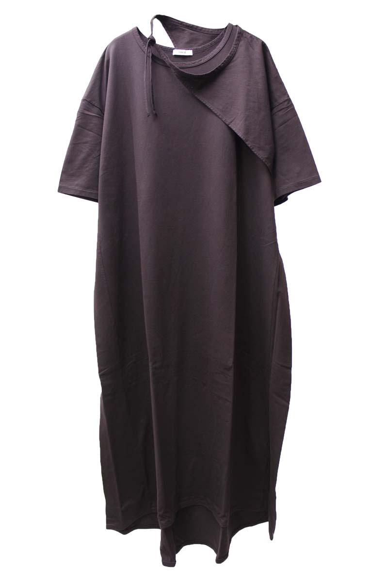 FEMMENT レイヤードスリーブドレス【21SS】